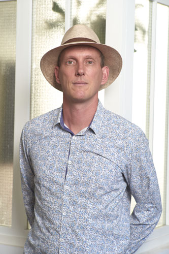 Bruno Coulet, directeur artistique de Zanza Création.
